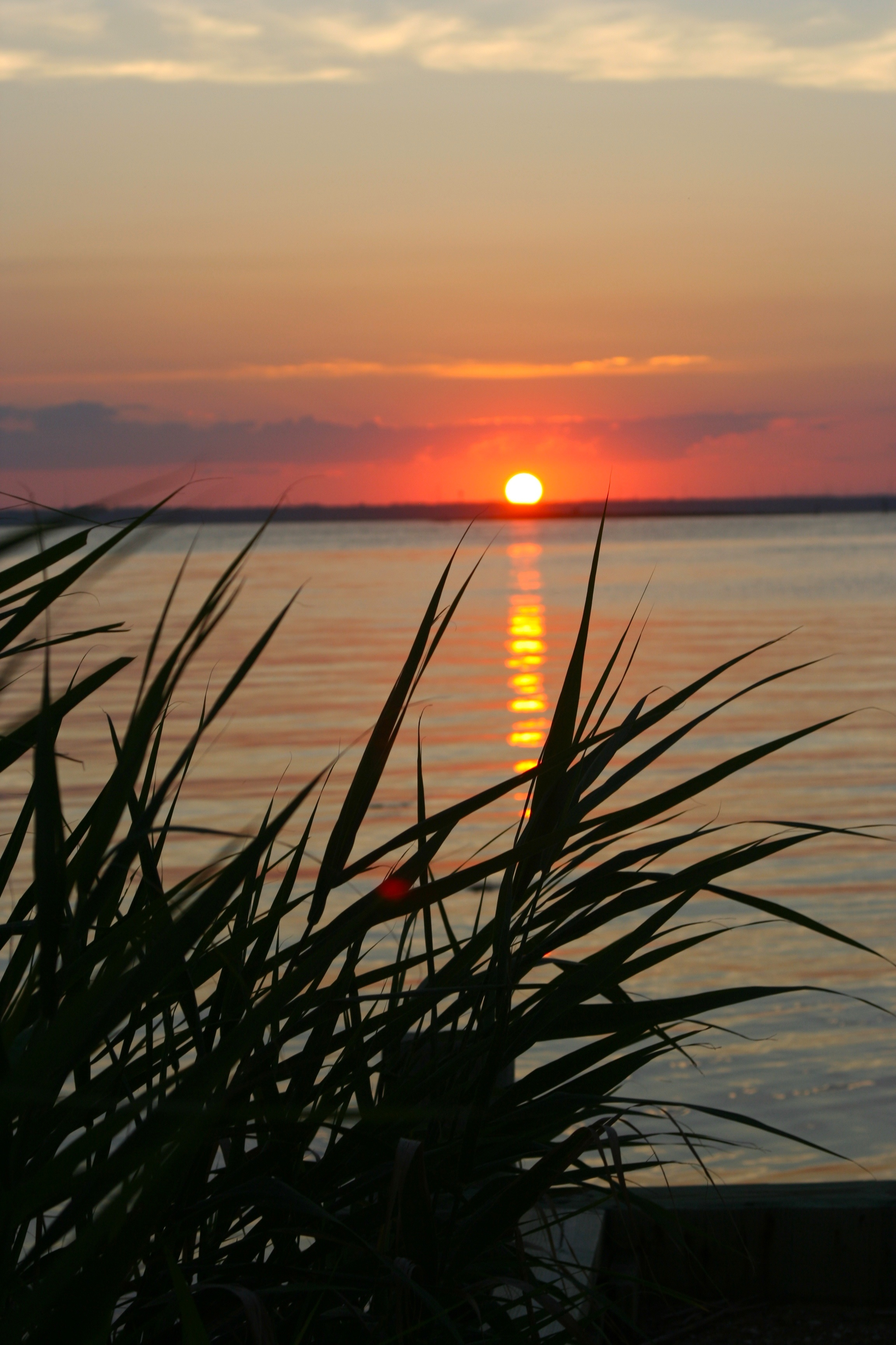 Picture perfect sunset on long beach island nj the jersey girl